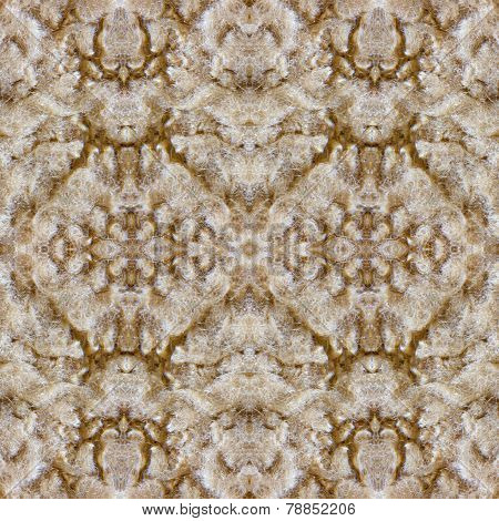 Pattern Of Sheep Fur Closeup For Background