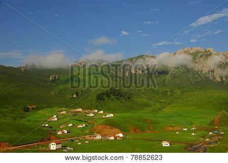 Langmusi Village