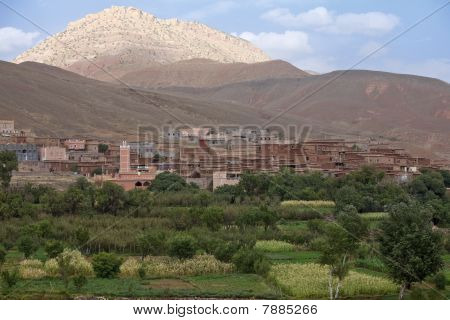 Village In Morocco.