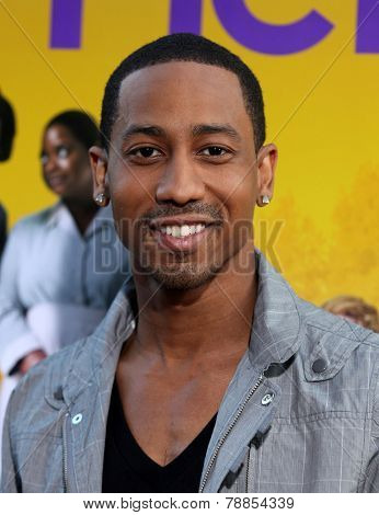 LOS ANGELES - AUG 09:  BRANDON T. JACKSON arrives to the
