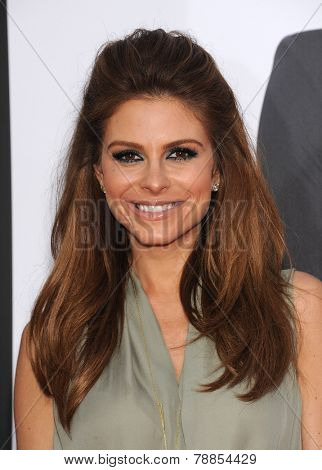 LOS ANGELES - APR 21:  Maria Menounos arrives to the The Bridge