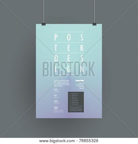 Elegant Poster Template Design