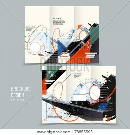 Stylish Tri-fold Brochure Design