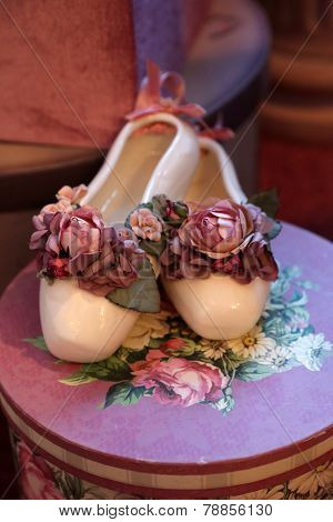 Gorgeous Rose Ballerina Slippers