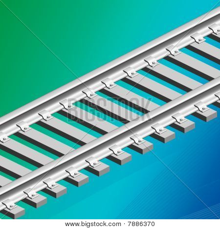 3D Konzept Train track
