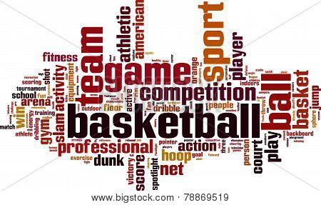Basketball Word Cloud