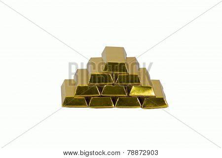 Paper Golden Bar