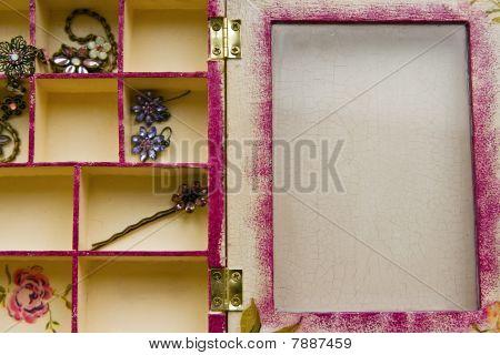 Decoupage Box Inside