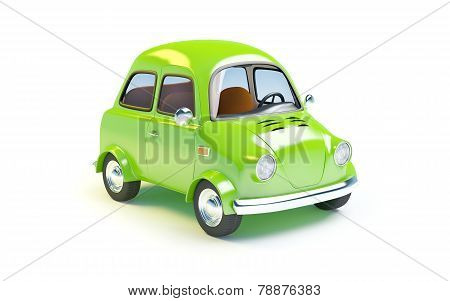 small retro car