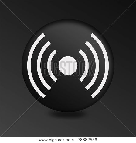 Wireless sign icon. Wifi sign. Wifi zone