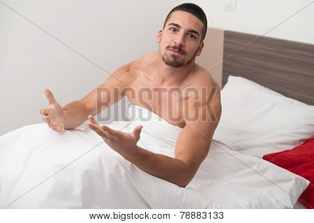 Angry Man About Waking Up
