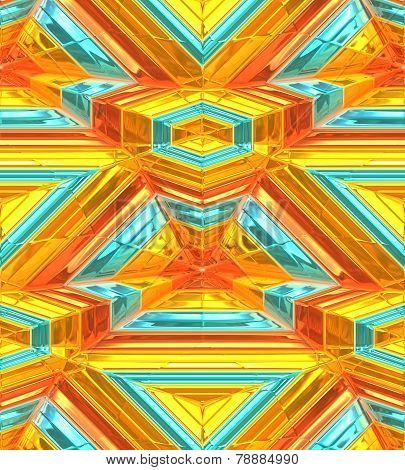 Background, modern 3d art