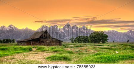 Moulton Barn In Full Color