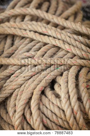 Rope Made From Natural Fibers