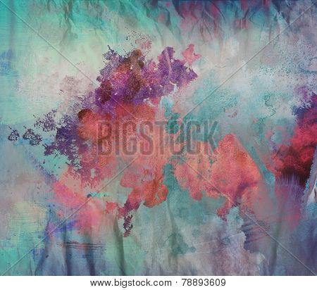 abstract mixed media art - grunge background