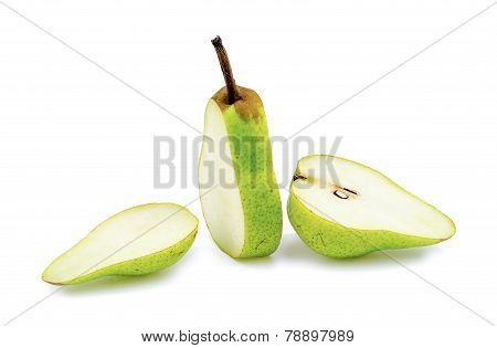 Fresh Organic Green Pear Cut Up Arrangement