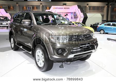 Bangkok - November 28: Mitsubishi Pajero Sport Car On Display At The Motor Expo 2014 On November 28,
