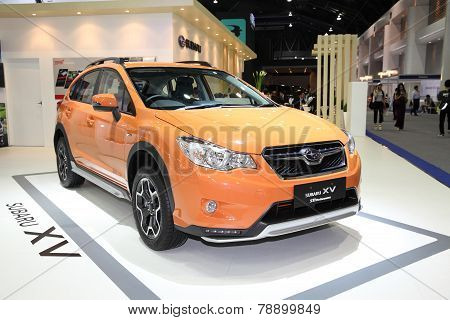 Bangkok - November 28: Subaru Xv Sti Performance Car On Display At The Motor Expo 2014 On November 2