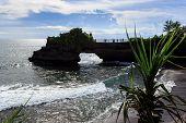 foto of tanah  - Coast near Tanah Lot at sunny day Bali Indonesia - JPG