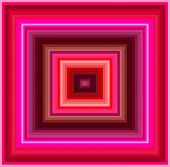 picture of hypnotizing  - An hypnotic vintage colored squares background pattern - JPG