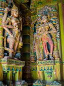 picture of jain  - Colorful Sculptures in Bhandasar Jain Temple - JPG