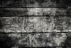 foto of wood  - Old dark grunge wood background with knots and scratches - JPG