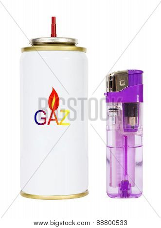 Gas And Lighter