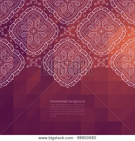 Ornate Border Background