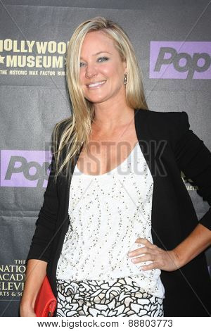 LOS ANGELES - April 21:  Sharon Case at the  2015 Daytime EMMY Awards Kick-off Party at the Hollywood Museum on April 21, 2015 in Hollywood, CA
