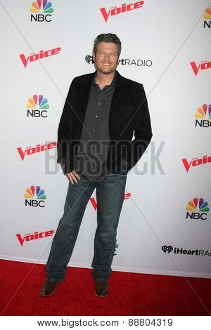 LOS ANGELES - April 23:  Blake Shelton at the
