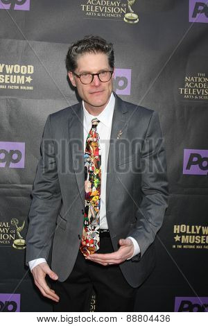 LOS ANGELES - April 21:  Bob Bergen at the  2015 Daytime EMMY Awards Kick-off Party at the Hollywood Museum on April 21, 2015 in Hollywood, CA