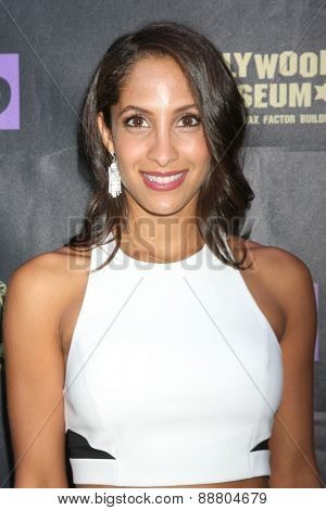 LOS ANGELES - April 21:  Christel Khalil at the  2015 Daytime EMMY Awards Kick-off Party at the Hollywood Museum on April 21, 2015 in Hollywood, CA