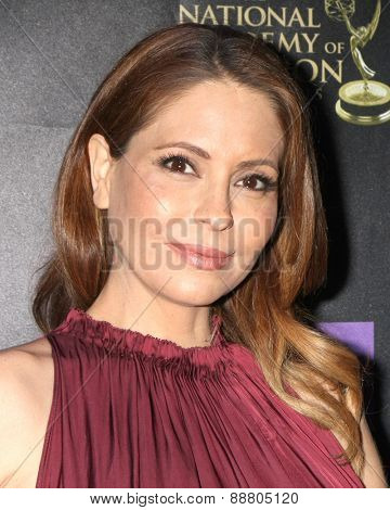 LOS ANGELES - April 21:  Lisa LoCicero at the  2015 Daytime EMMY Awards Kick-off Party at the Hollywood Museum on April 21, 2015 in Hollywood, CA