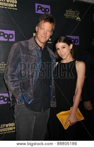 LOS ANGELES - April 21:  Matthew Ashford, Kate Mansi at the  2015 Daytime EMMY Awards Kick-off Party at the Hollywood Museum on April 21, 2015 in Hollywood, CA