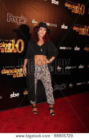 LOS ANGELES - April 21:  Sharna Burgess at the