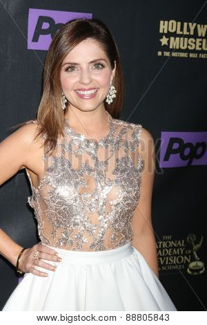 LOS ANGELES - April 21:  Jen Lilley at the  2015 Daytime EMMY Awards Kick-off Party at the Hollywood Museum on April 21, 2015 in Hollywood, CA