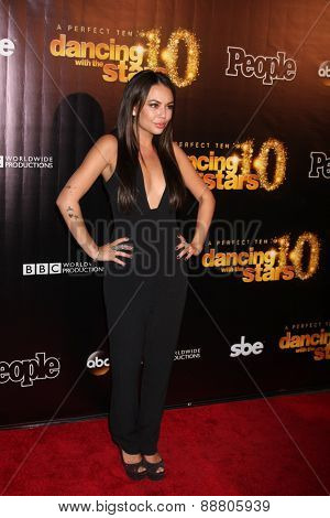 LOS ANGELES - April 21:  Janel Parrish at the