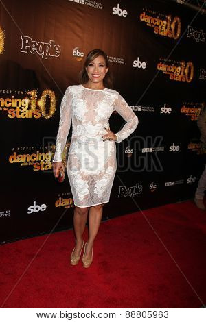 LOS ANGELES - April 21:  Carrie Ann Inaba at the