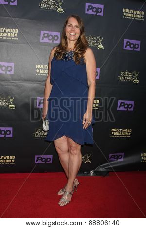 LOS ANGELES - April 21:  Cynthia J. Popp at the  2015 Daytime EMMY Awards Kick-off Party at the Hollywood Museum on April 21, 2015 in Hollywood, CA