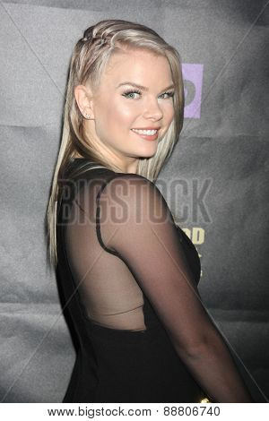 LOS ANGELES - April 21:  Kelli Goss at the  2015 Daytime EMMY Awards Kick-off Party at the Hollywood Museum on April 21, 2015 in Hollywood, CA