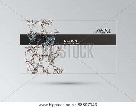 Color Template With Abstract Elements