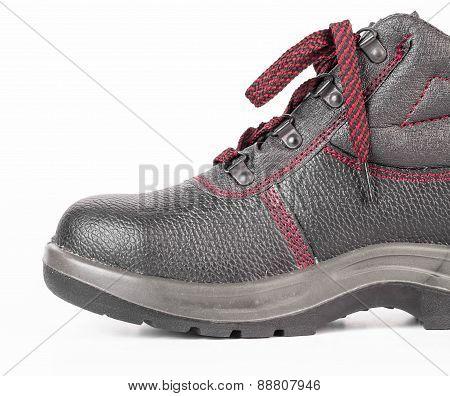 Black sport boot.
