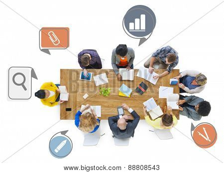 Team Teamwork Togetherness Professional Contemporary Administration Concept