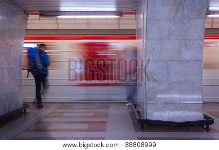 Subway In Prague