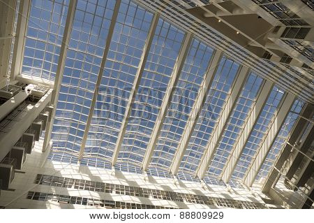 Netherlands - The Hague - Circa March 2015: Roof Of The City Hall In The Hague, Designed By Richard