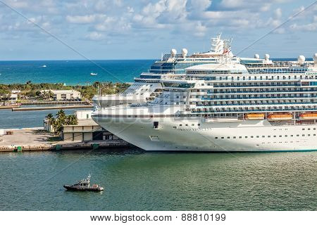 Cruise Ships In Port Everglades