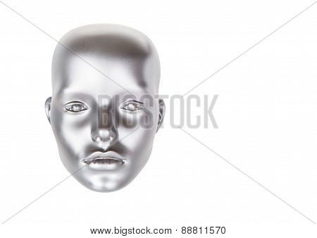 Mannequin Head, Isolated