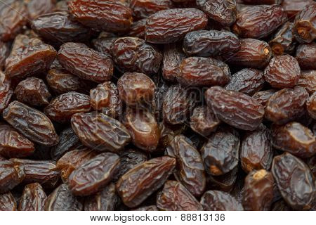 Fresh Dried Date Fruits Background