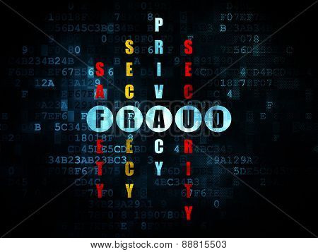 Security concept: word Fraud in solving Crossword Puzzle