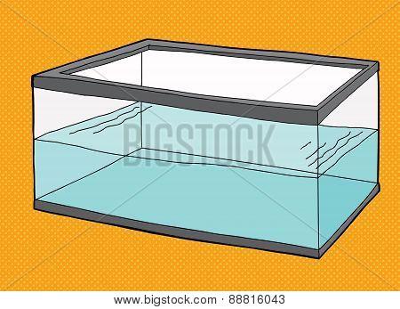 Half Full Fish Tank